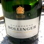 Bitten by a bottle of Bollinger