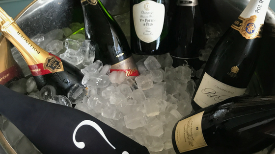 Seven Christmas Champagnes under $75